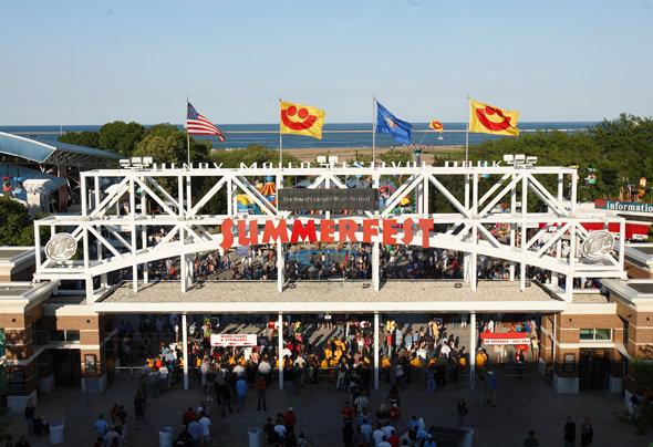 Summerfest in Milwaukee, Wisconsin